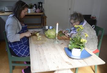 kjøkkenarbeid
